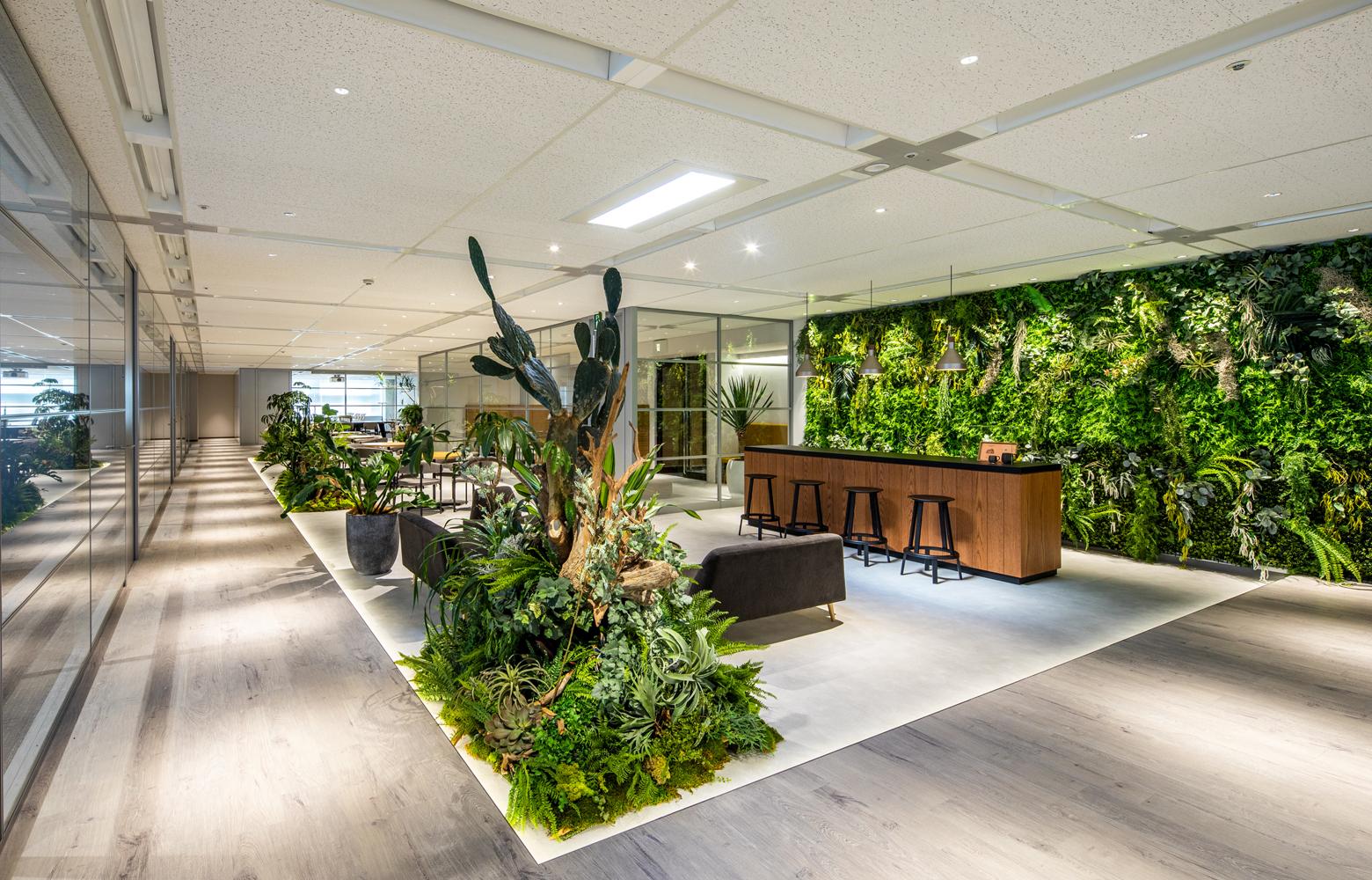 キリンエンジニアリング株式会社 Work Lounge デザイン・レイアウト事例