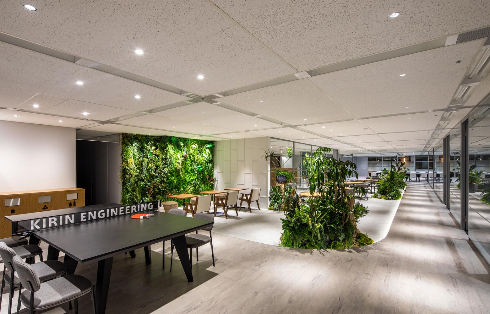 キリンエンジニアリング株式会社 Work Lounge_4 デザイン・レイアウト事例