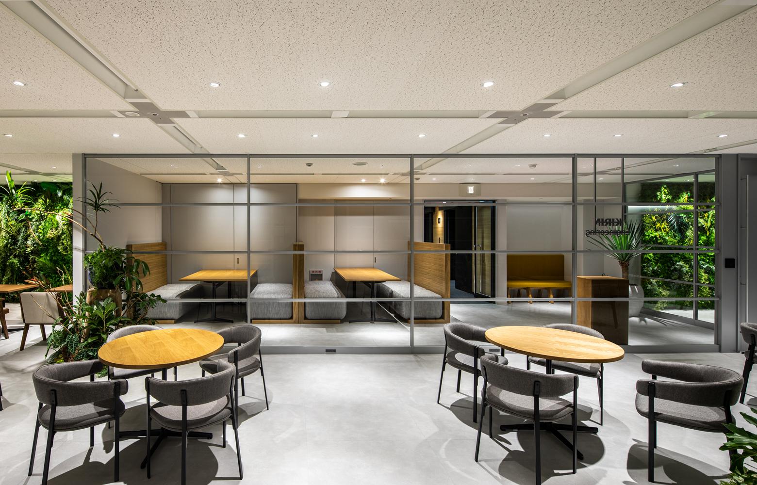 キリンエンジニアリング株式会社 Work Lounge_3 デザイン・レイアウト事例