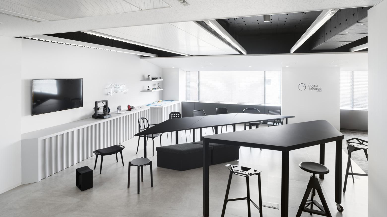 株式会社日本能率協会コンサルティング Exhibition Space_2 デザイン・レイアウト事例