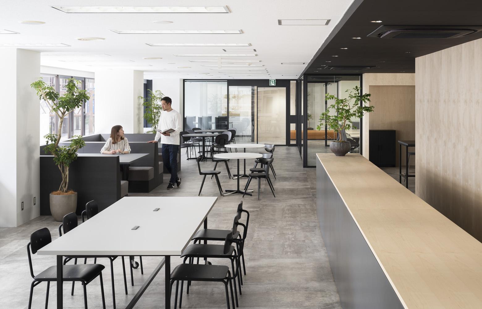 リンクタイズ株式会社 Open Lounge_2 デザイン・レイアウト事例