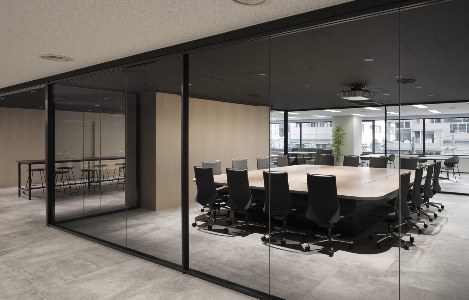 リンクタイズ株式会社 Meeting Room デザイン・レイアウト事例