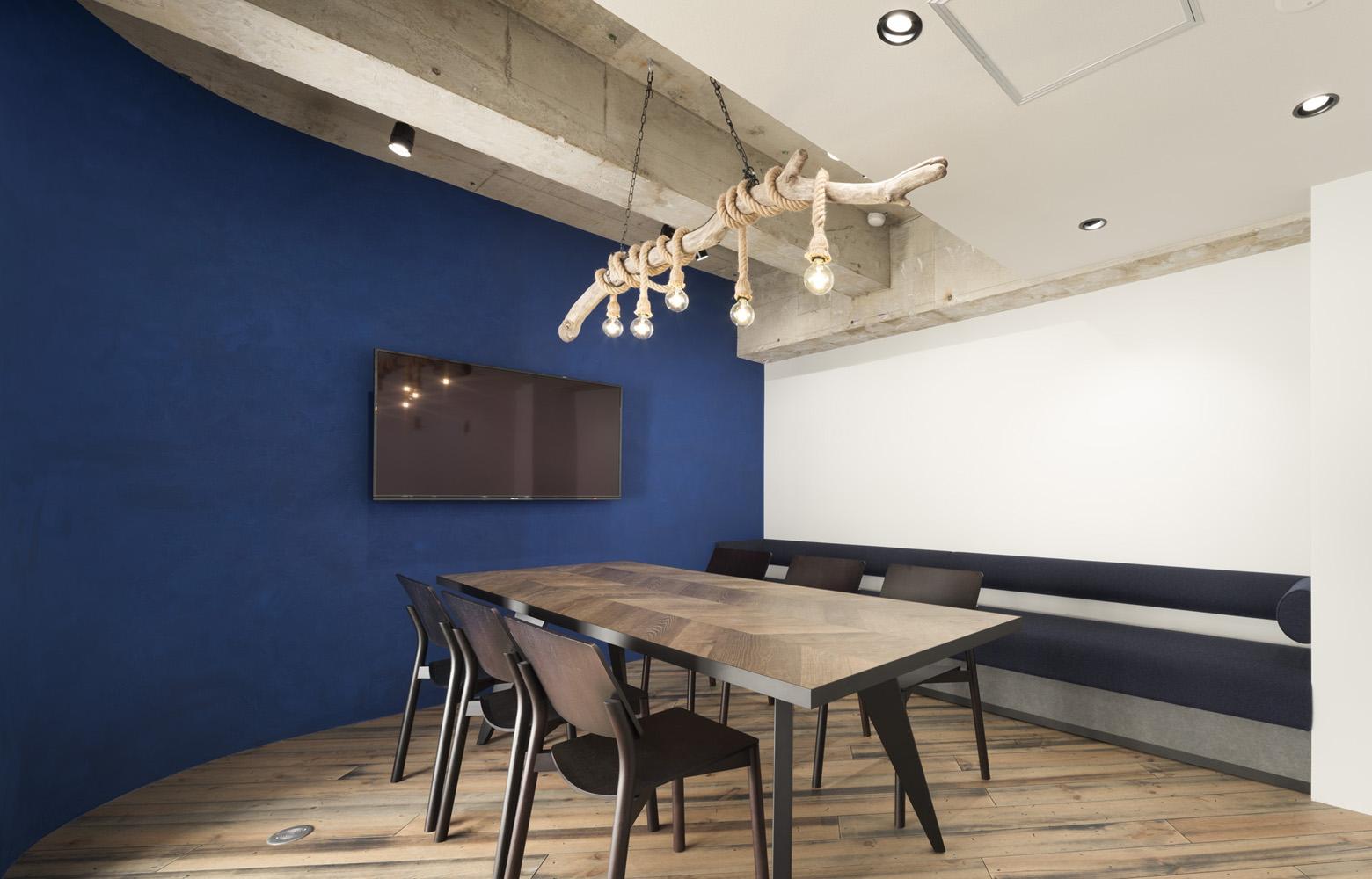 株式会社AdShipS Meeting Room_2 デザイン・レイアウト事例