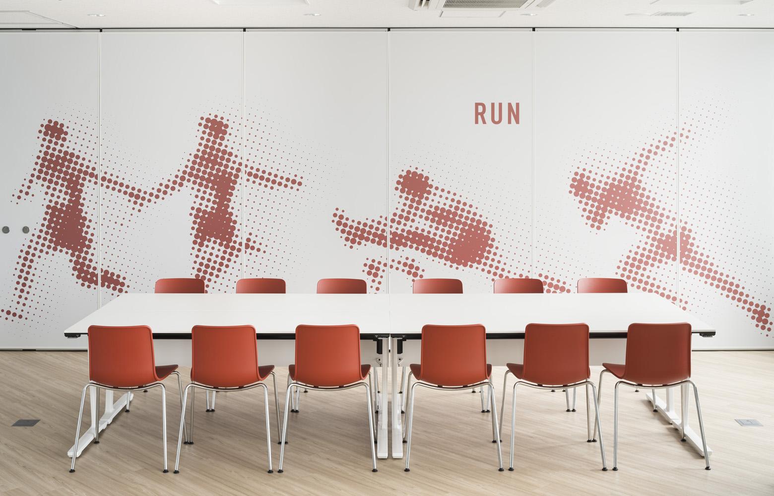 公益財団法人日本陸上競技連盟壁・壁面