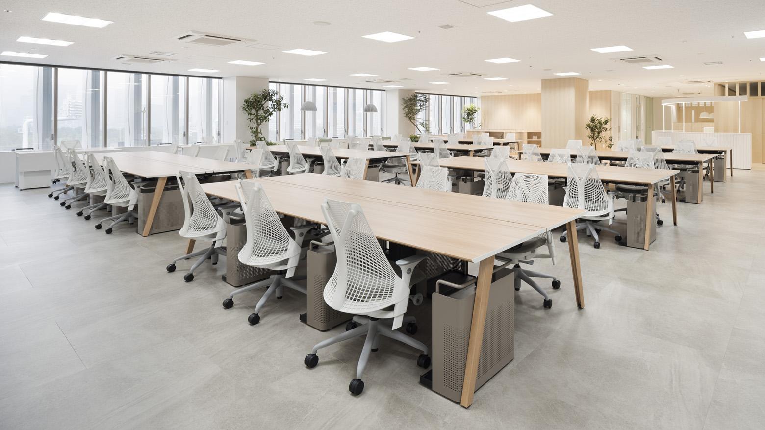 公益財団法人日本陸上競技連盟 Work Space デザイン・レイアウト事例