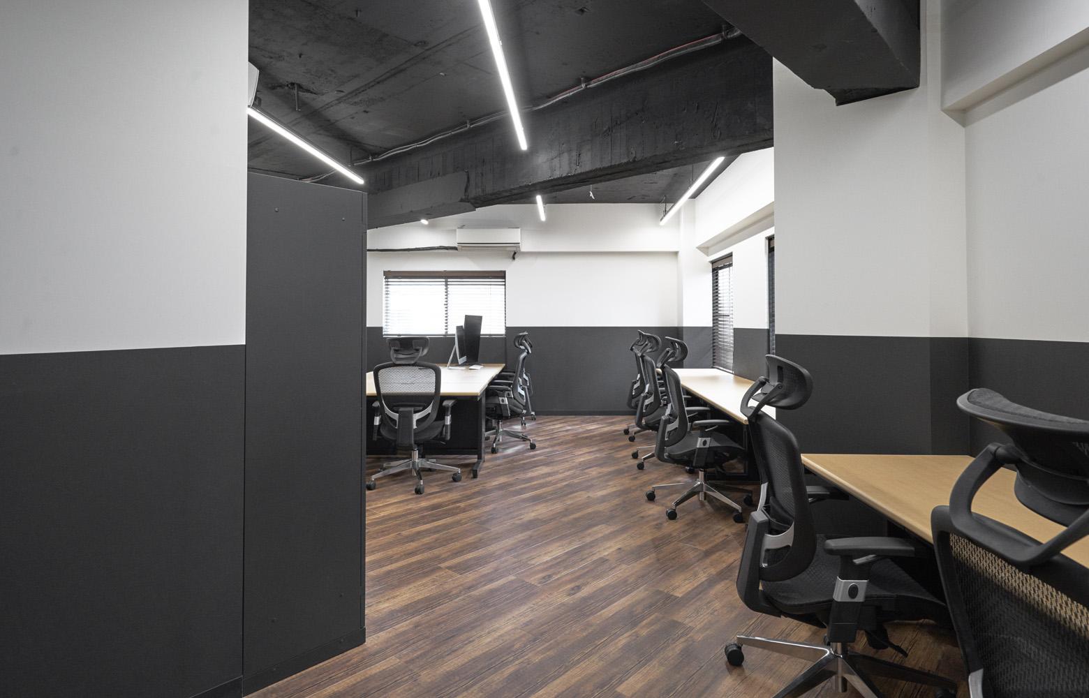 株式会社TEN&Co. Work Space_3 デザイン・レイアウト事例
