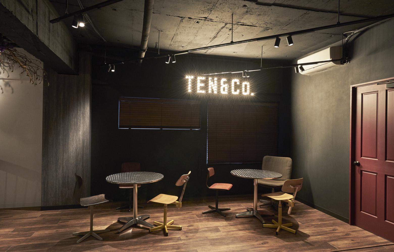 株式会社TEN&Co. Free Space_2 デザイン・レイアウト事例
