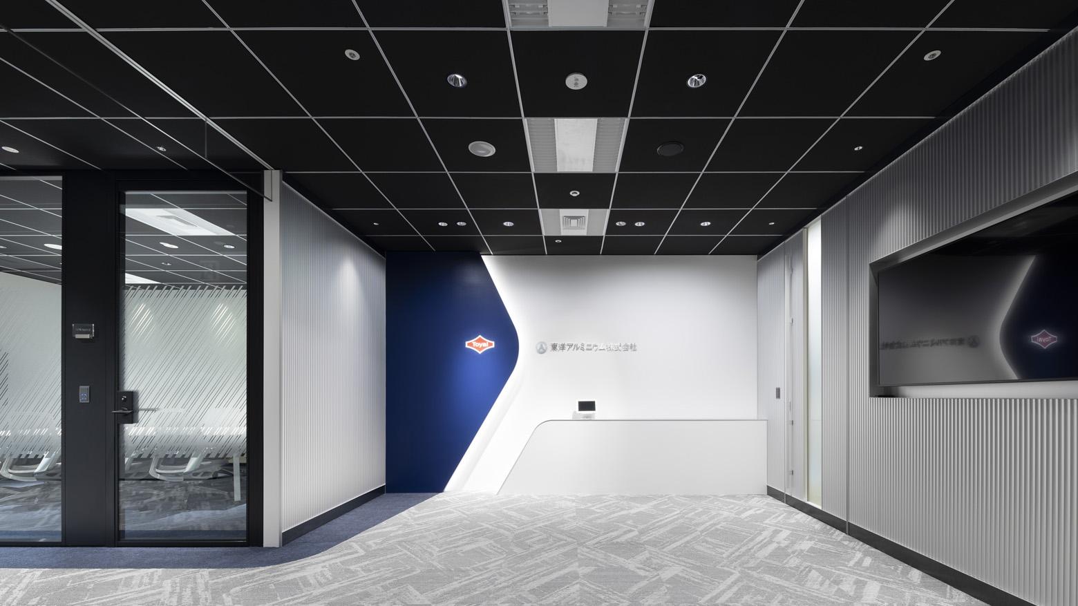 東洋アルミニウム株式会社 Entrance_2 デザイン・レイアウト事例