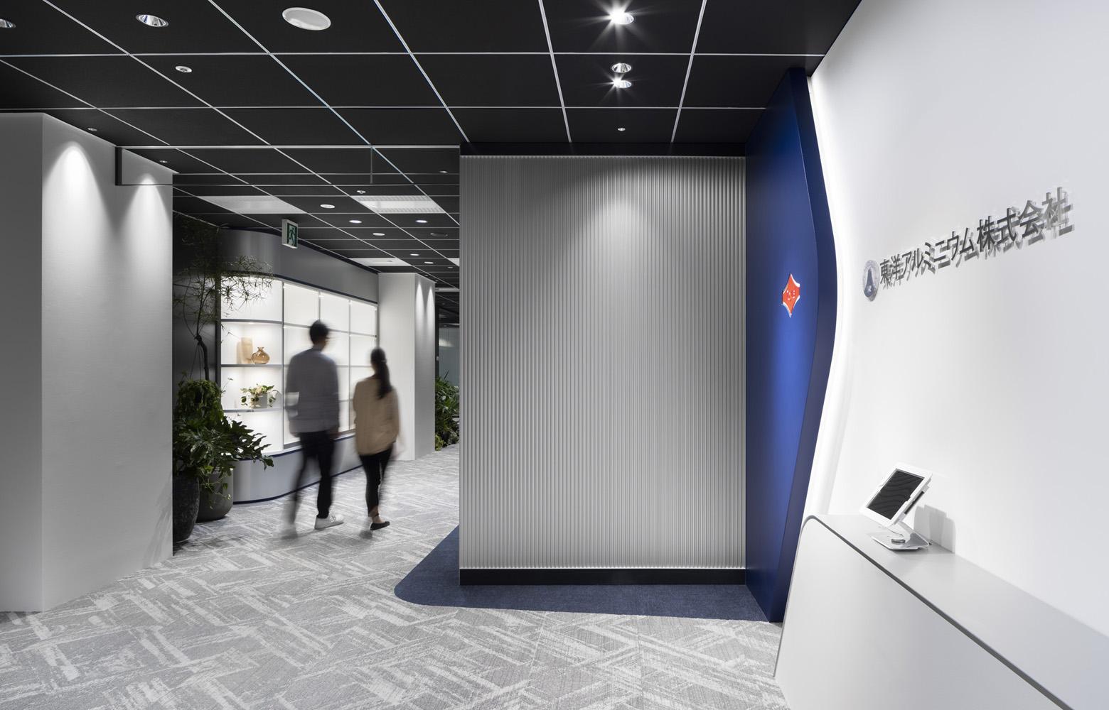 東洋アルミニウム株式会社 Entrance デザイン・レイアウト事例