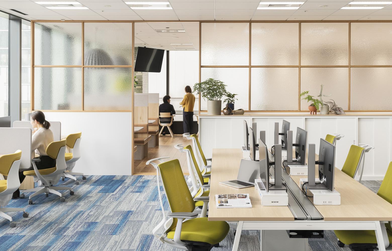 東洋アルミニウム株式会社 Work Space_2 デザイン・レイアウト事例