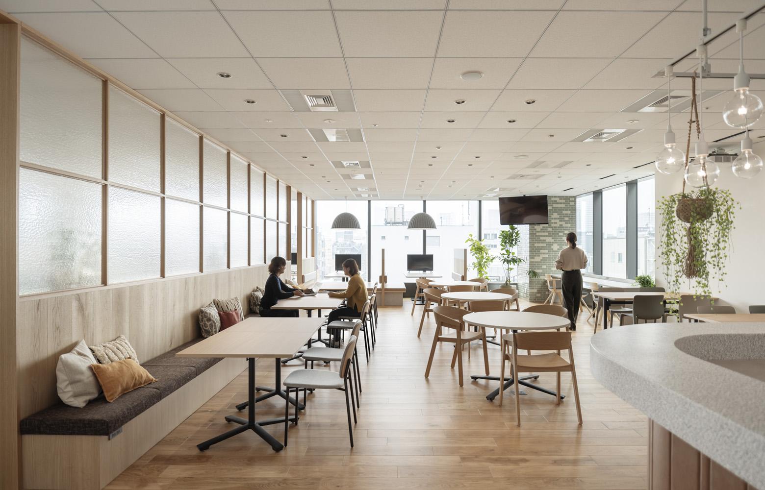 東洋アルミニウム株式会社 Work Lounge デザイン・レイアウト事例