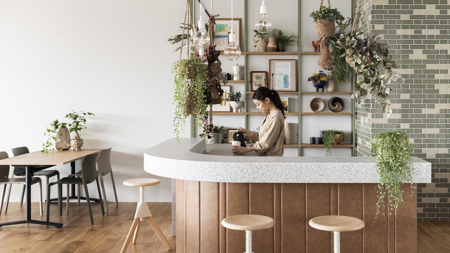 東洋アルミニウム株式会社 Cafe Counter デザイン・レイアウト事例