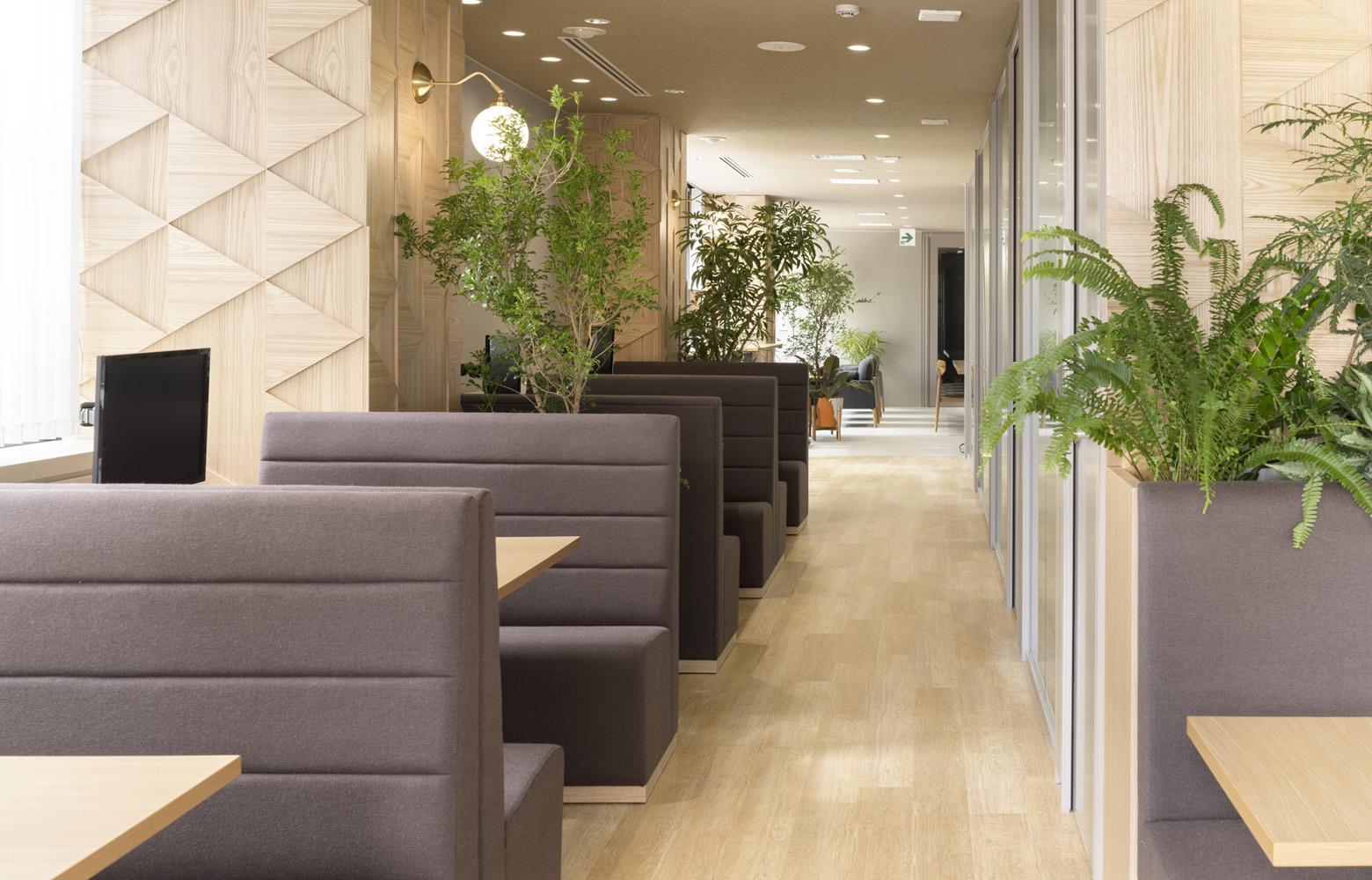 H¹T Shinagawa Office Share Office_4 デザイン・レイアウト事例