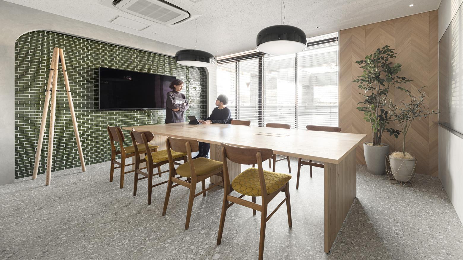 株式会社プライマルヴェニュー Meeting Room デザイン・レイアウト事例