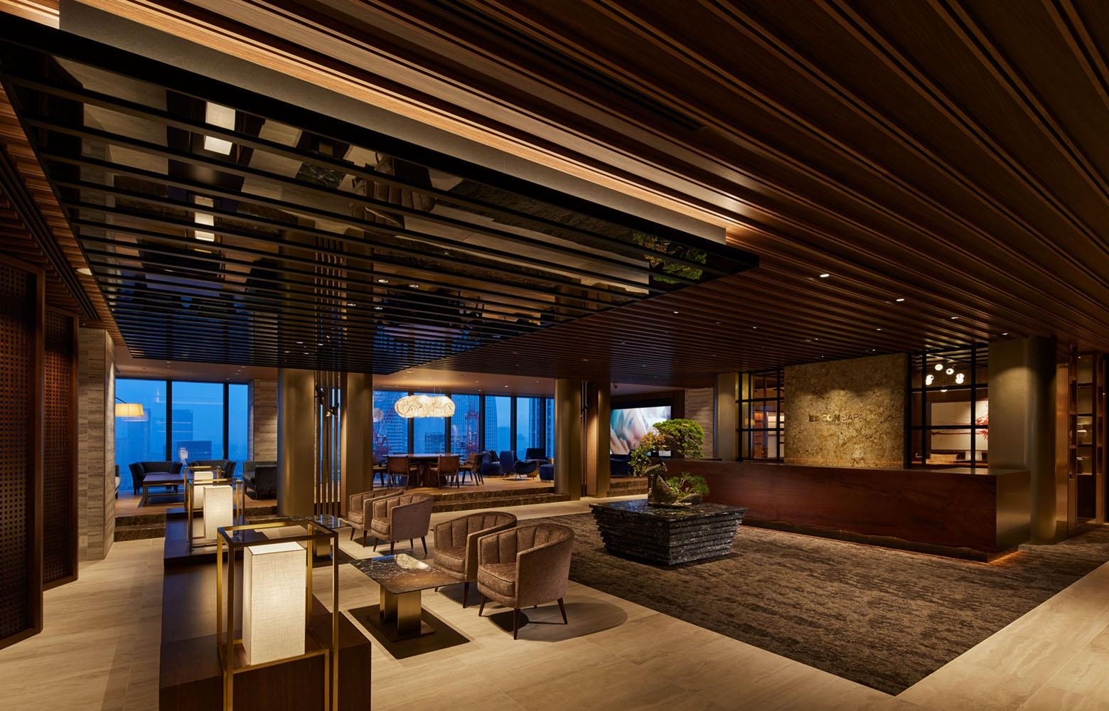株式会社日本エスコン Entrance Lounge デザイン・レイアウト事例