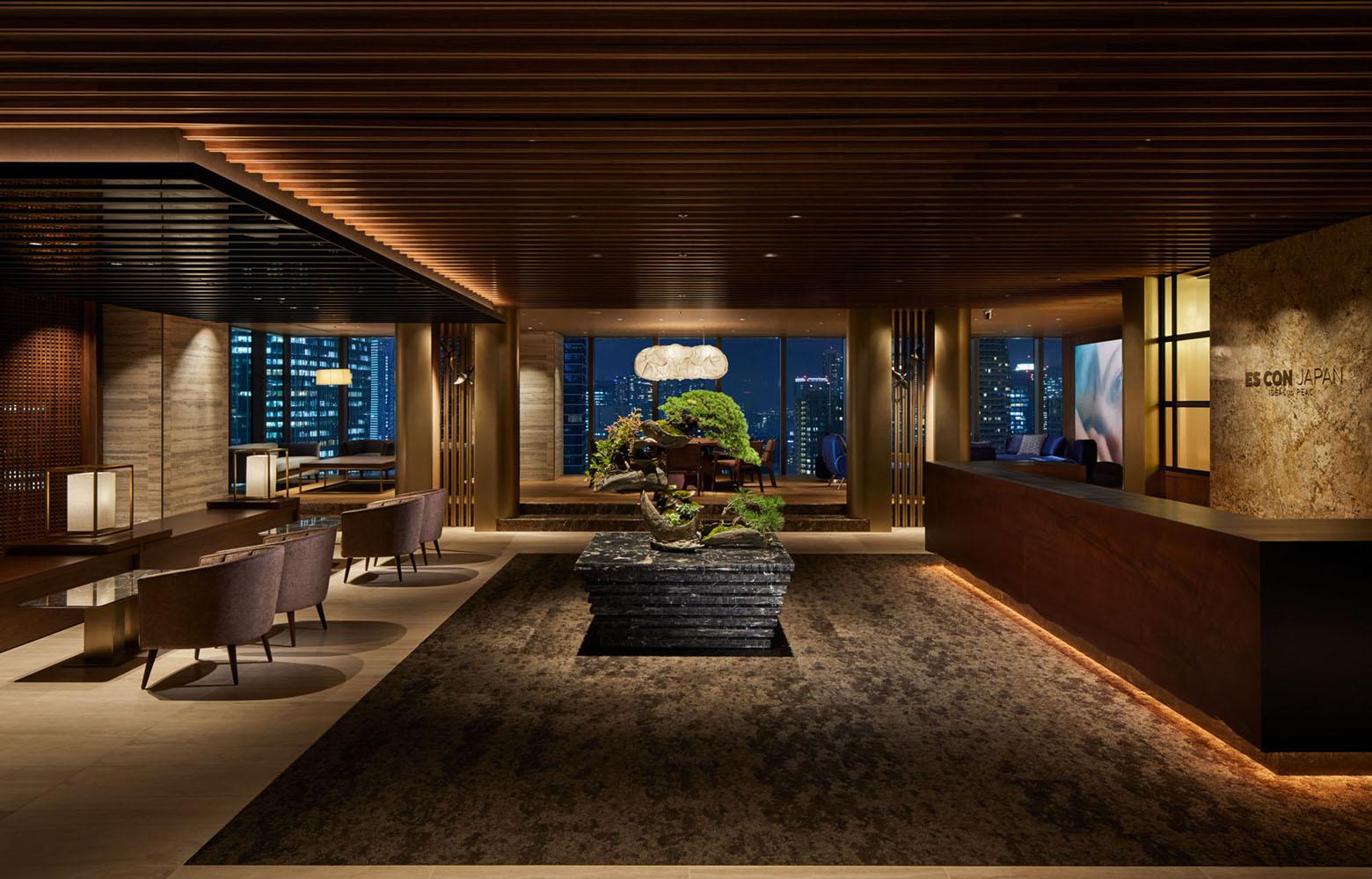 株式会社日本エスコン Entrance Lounge_2 デザイン・レイアウト事例