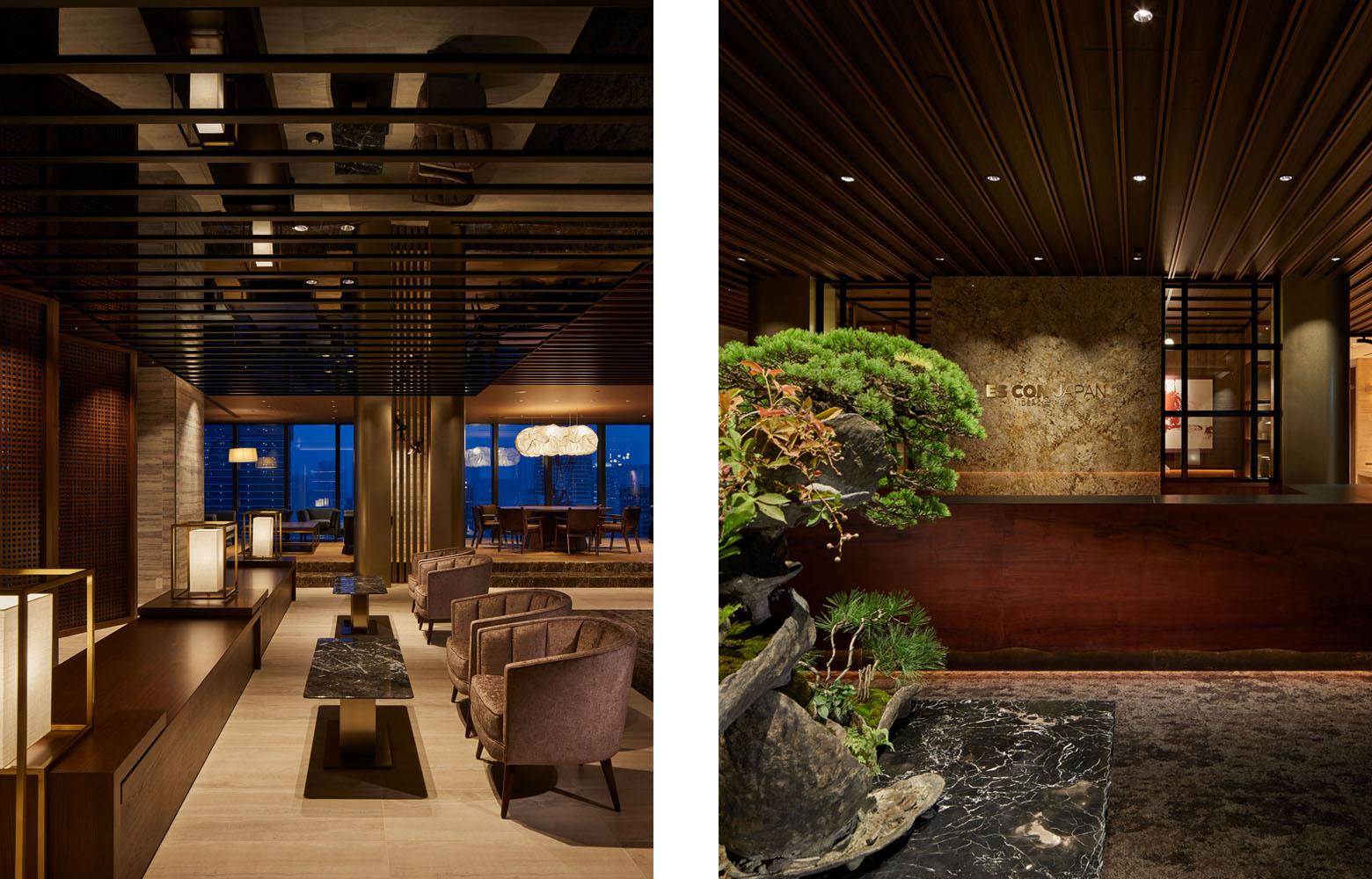 株式会社日本エスコン Entrance Lounge_3 デザイン・レイアウト事例