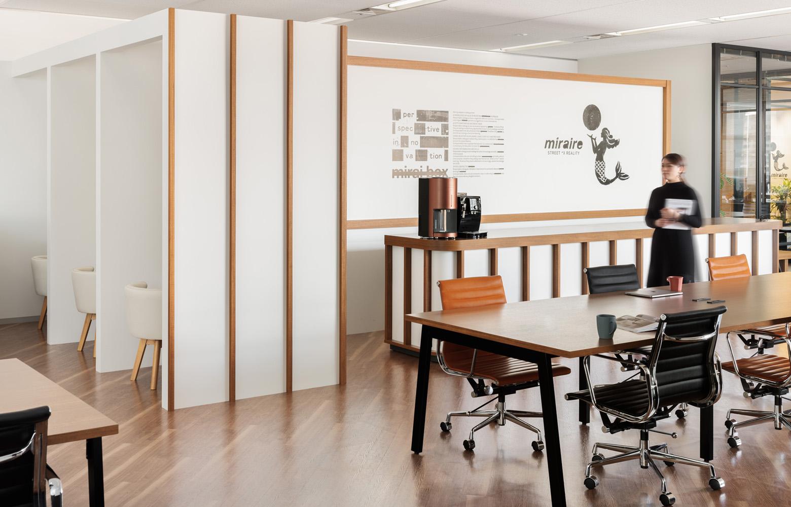 株式会社未来ボックス Work Space_3 デザイン・レイアウト事例