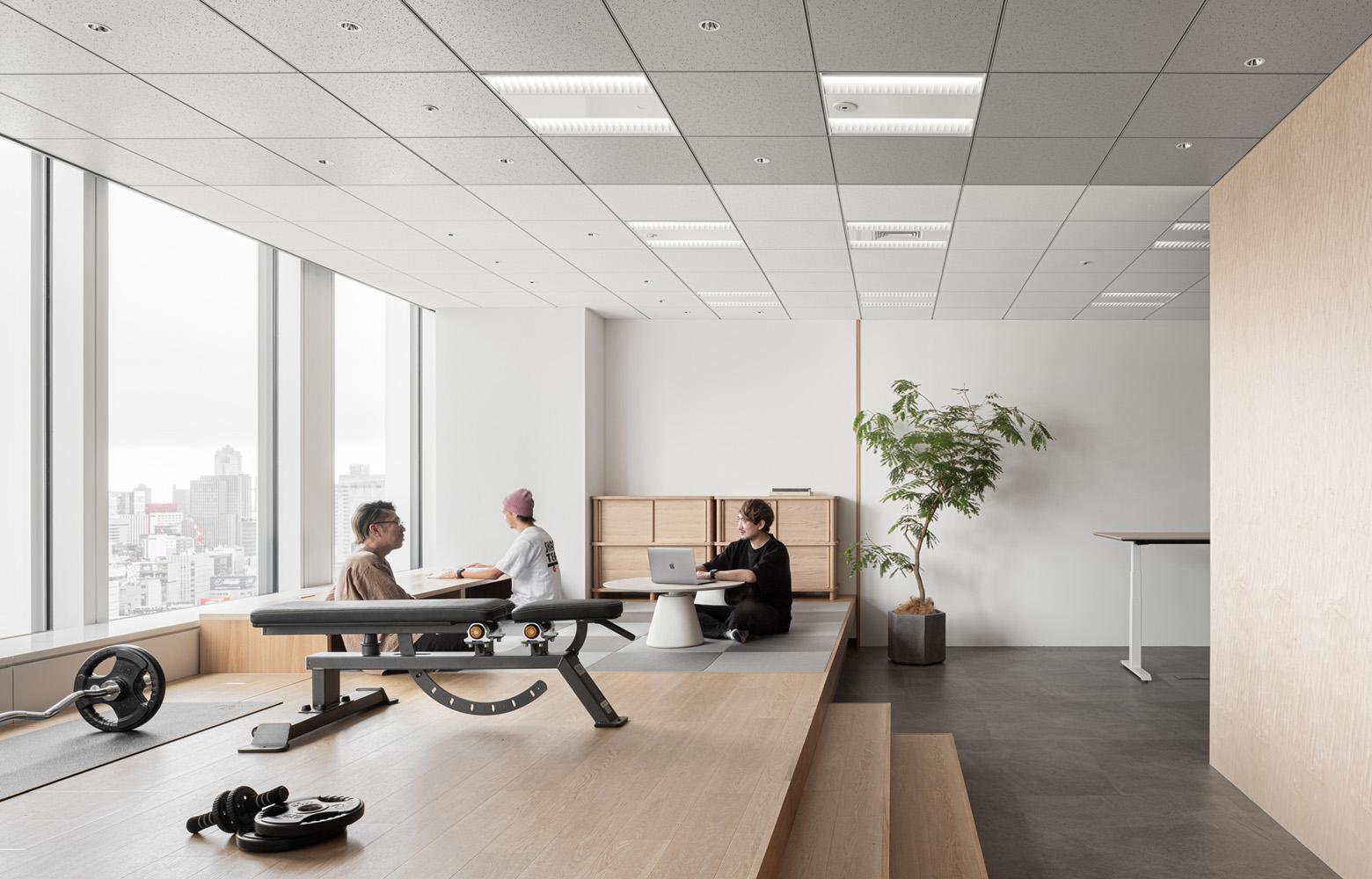 京未来株式会社フリースペース《リフレッシュ・多目的エリア》