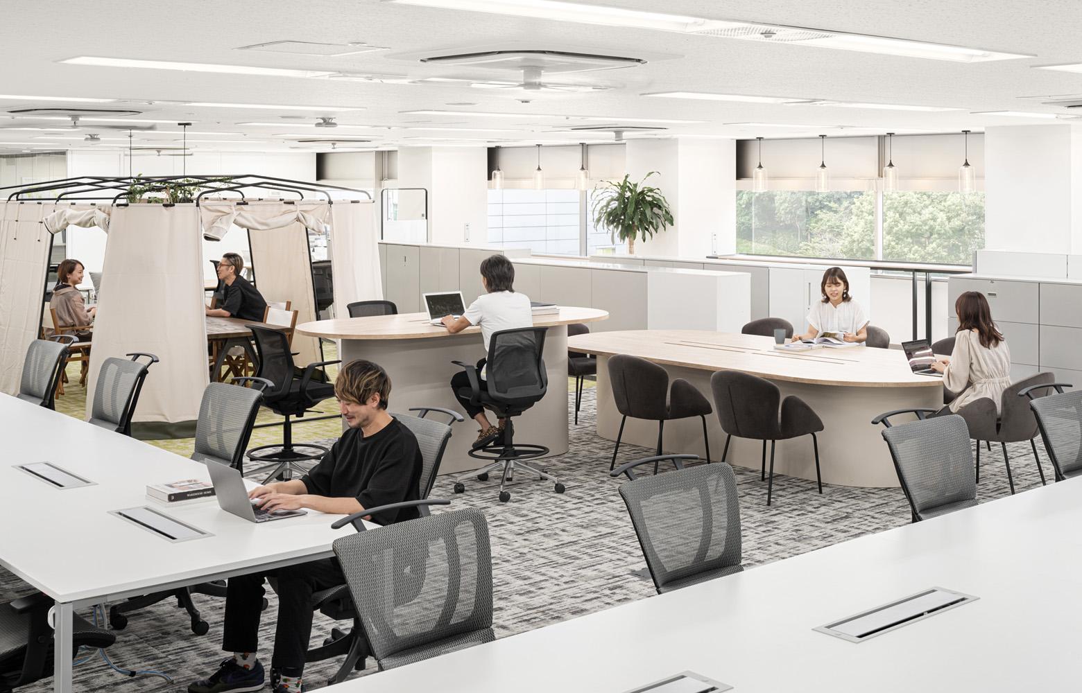 味の素株式会社 Open Office_6 デザイン・レイアウト事例
