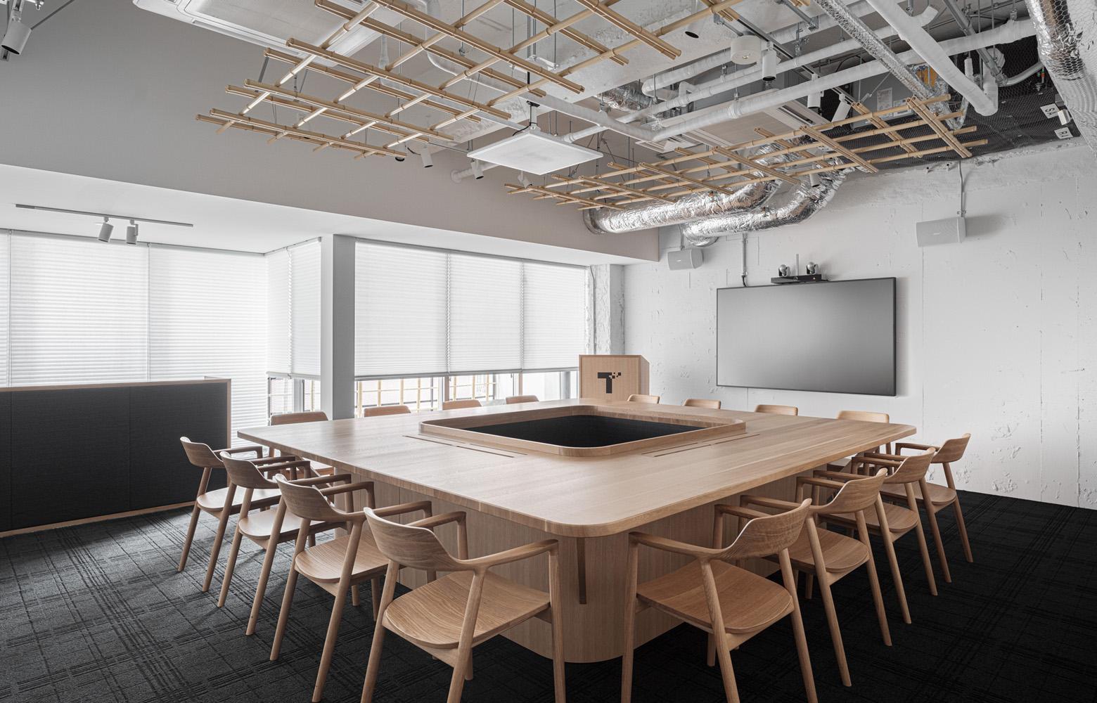 トヨタコネクティッド株式会社 Meeting Room デザイン・レイアウト事例