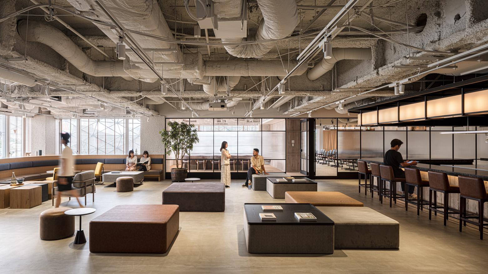 株式会社アトラエ vol.3 Work Lounge デザイン・レイアウト事例
