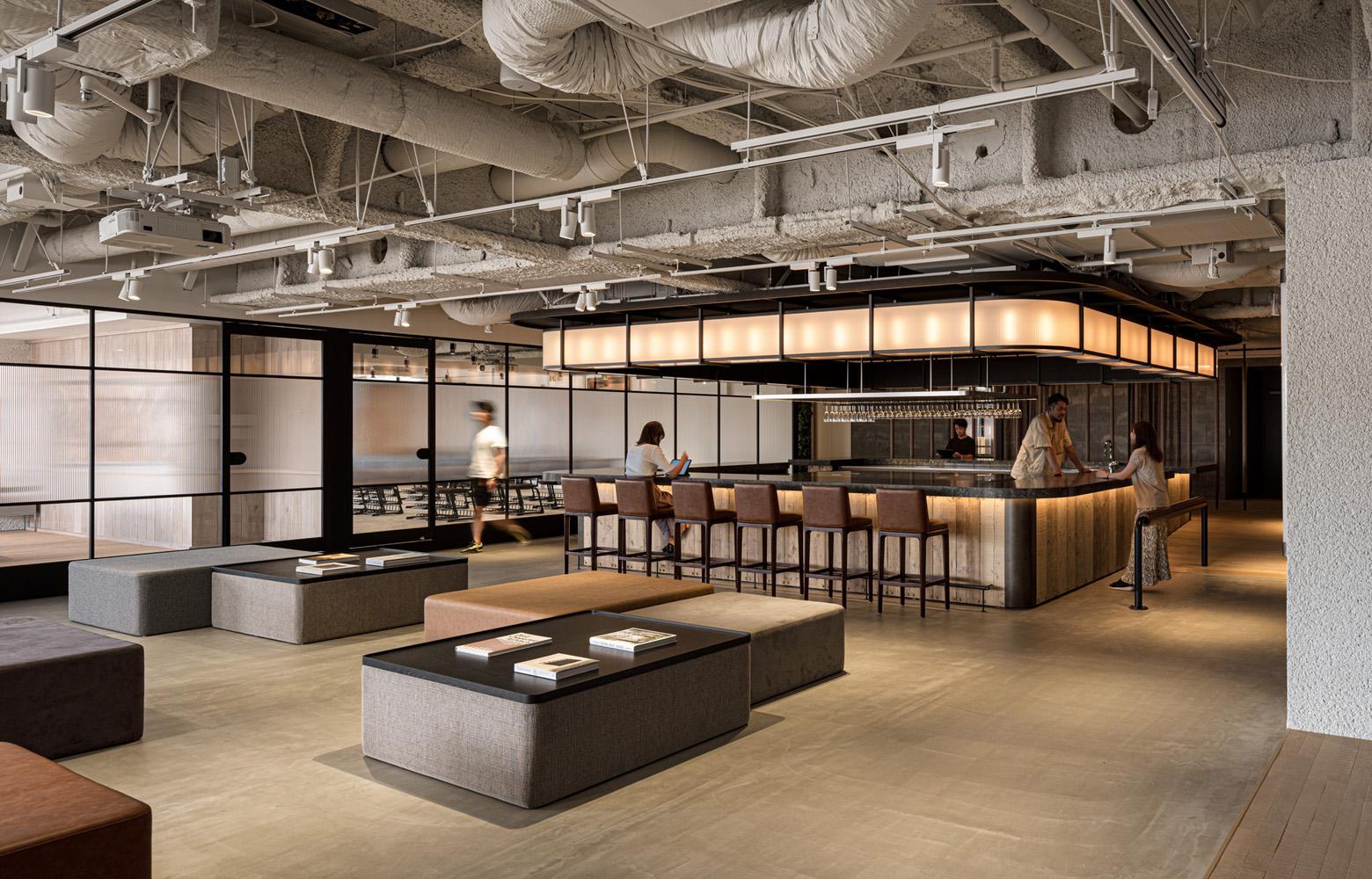 株式会社アトラエ vol.3 Work Lounge_2 デザイン・レイアウト事例