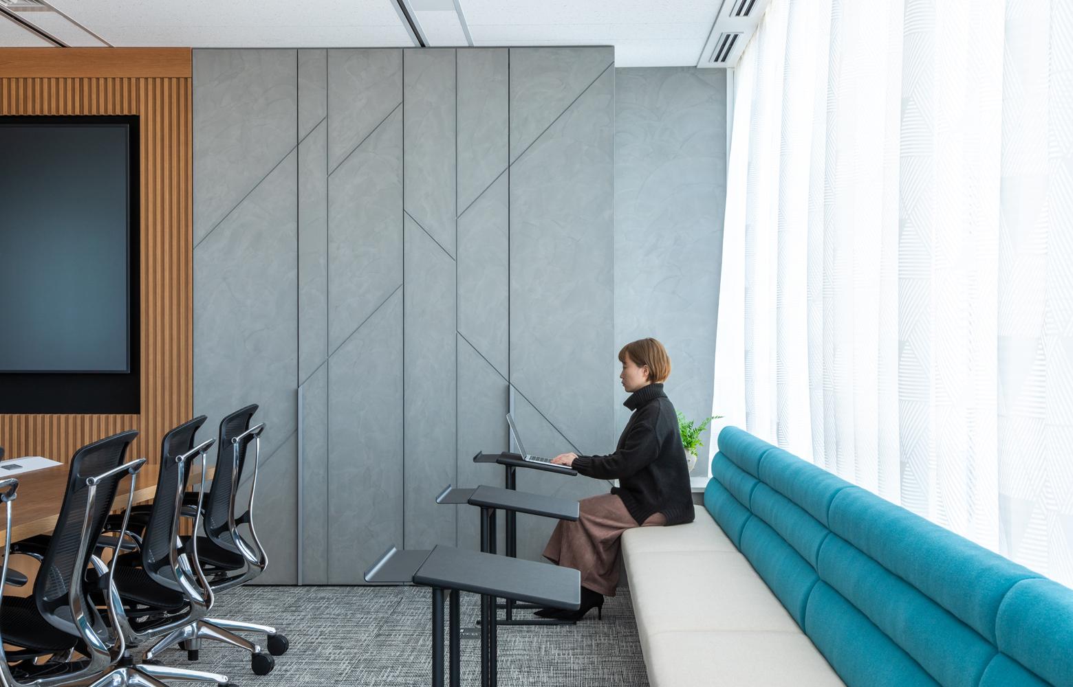 株式会社NTTデータMSE Shinyokohama Office Meeting Room_2 デザイン・レイアウト事例