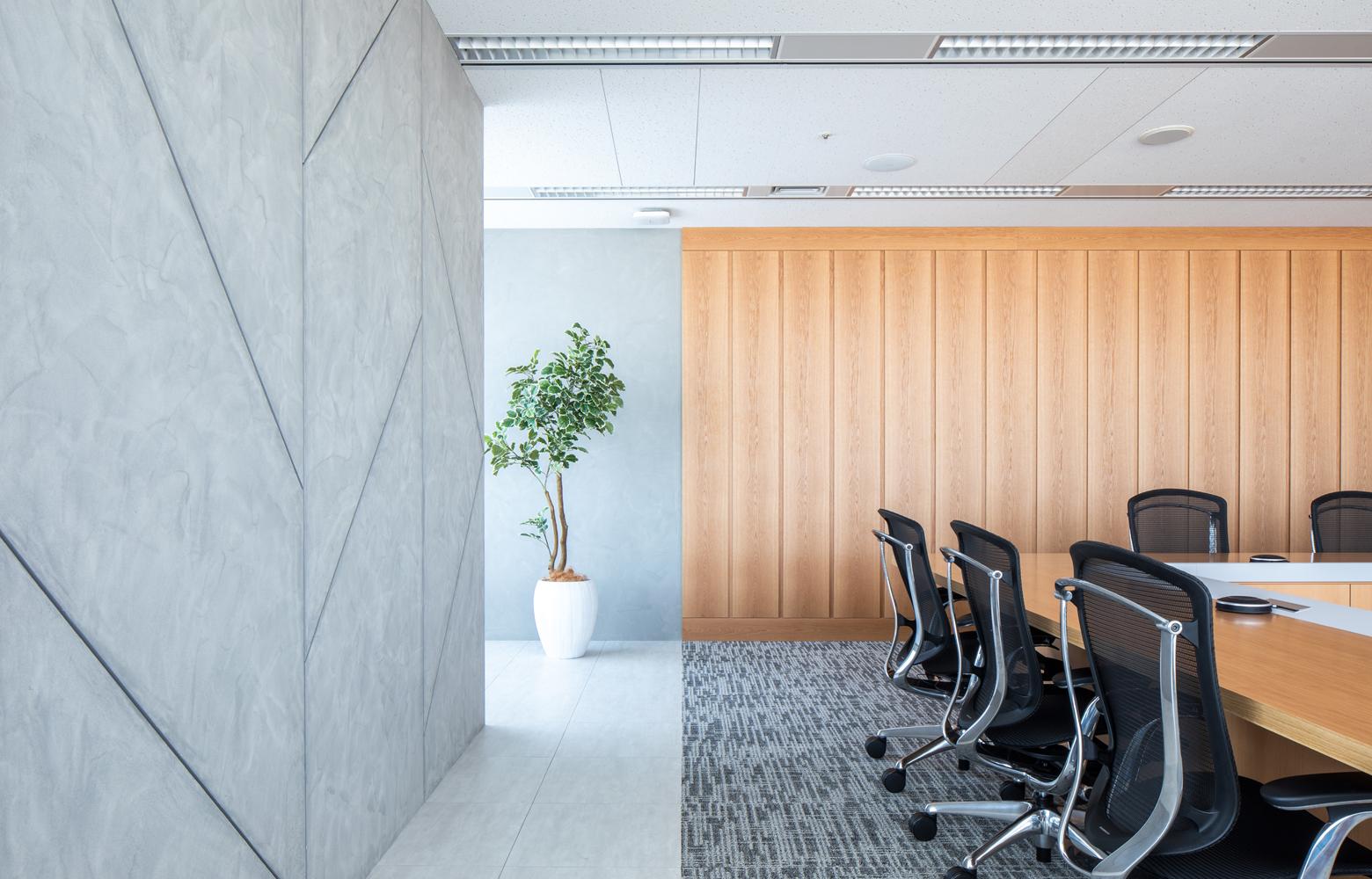 株式会社NTTデータMSE Shinyokohama Office Meeting Room_3 デザイン・レイアウト事例