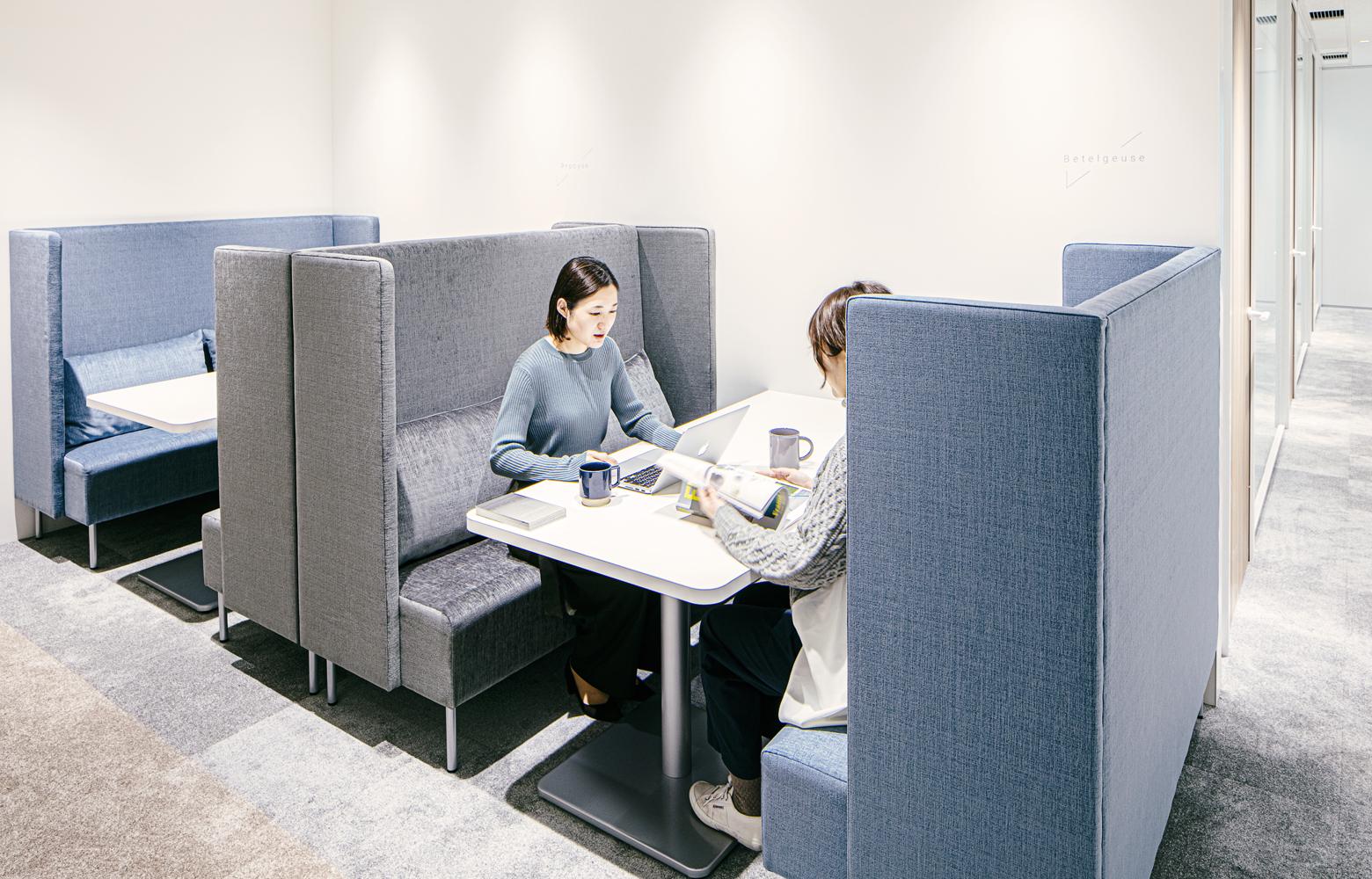 Secret Office Meeting Booth デザイン・レイアウト事例