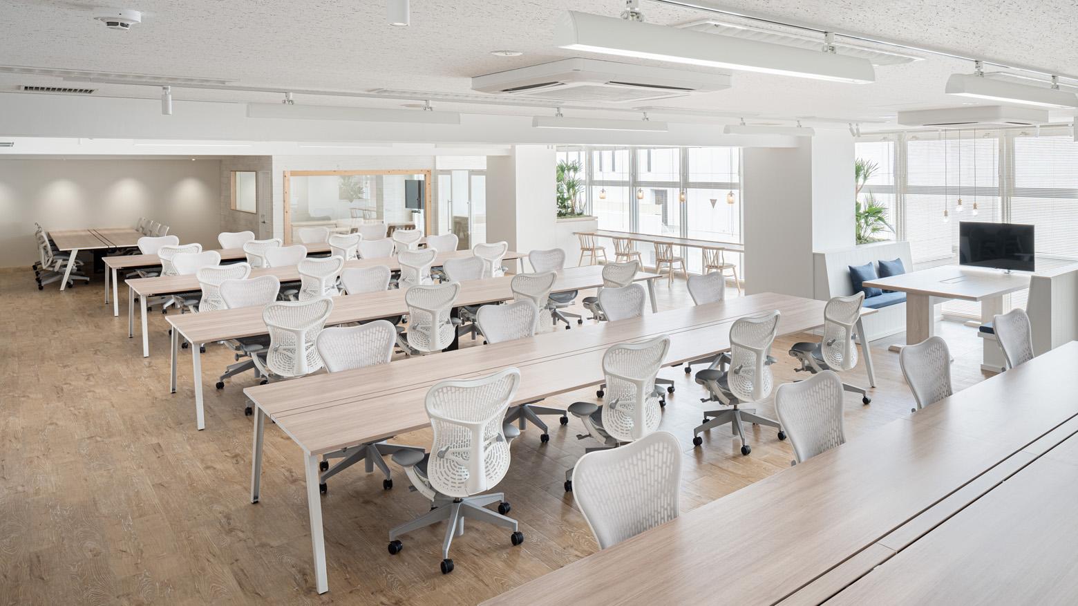 株式会社バリューファースト Workspace_4 デザイン・レイアウト事例